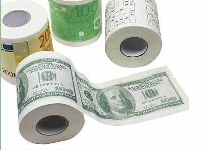 Подарок туалетная бумага поздравления