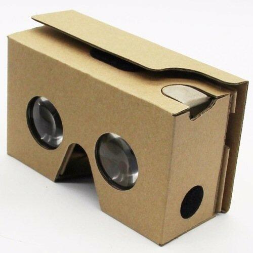 купить Очки виртуальной реальности Google cardboard Виртуальная ... d31170c739b5a